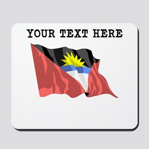 Custom Antigua Flag Mousepad