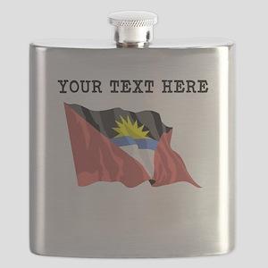 Custom Antigua Flag Flask