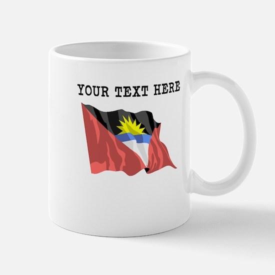 Custom Antigua Flag Mugs