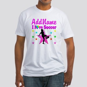 SOCCER PLAYER Fitted T-Shirt