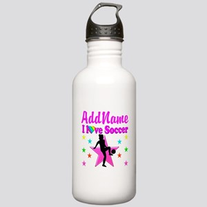 SOCCER PLAYER Stainless Water Bottle 1.0L