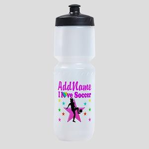 SOCCER PLAYER Sports Bottle