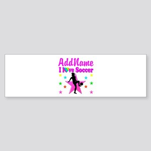 SOCCER PLAYER Sticker (Bumper)