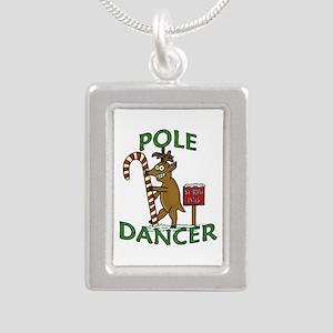 Funny Dancer Christmas Reindeer Pun Necklaces