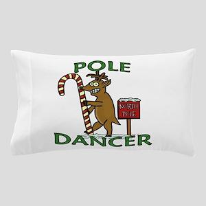 Funny Dancer Christmas Reindeer Pun Pillow Case