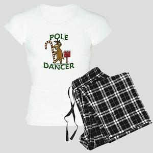 Funny Dancer Christmas Reindeer Pun Pajamas