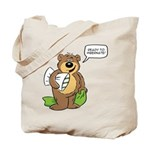 Ready to hibernate Tote Bag