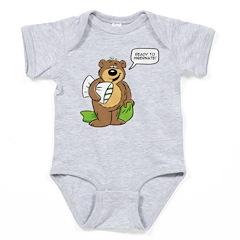 Ready to hibernate Baby Bodysuit