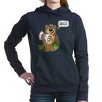 Ready to hibernate Women's Hooded Sweatshirt
