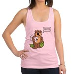 Ready to hibernate Racerback Tank Top