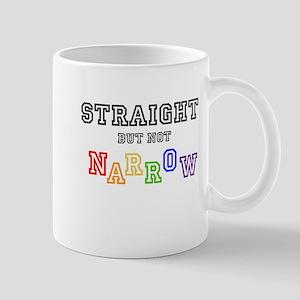 Straight but not narrow T-Shirt Mugs
