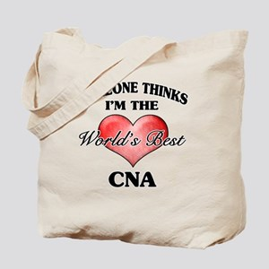 World's Best CNA Tote Bag