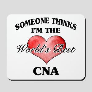 World's Best CNA Mousepad