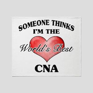 World's Best CNA Throw Blanket