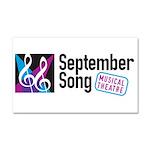 Official September Song Logo Car Magnet 20 X 12