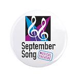 """Official September Song Logo 3.5"""" Button"""