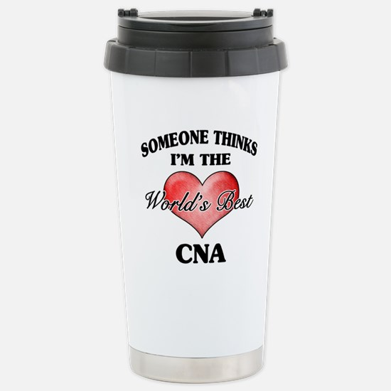 World's Best CNA Stainless Steel Travel Mug