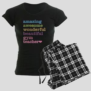 Gym Teacher Women's Dark Pajamas