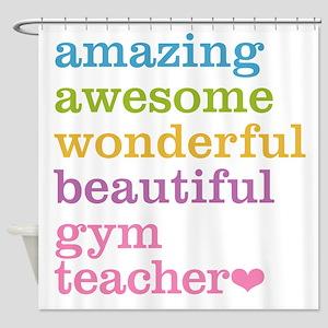 Gym Teacher Shower Curtain
