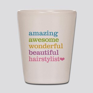 Hairstylist Shot Glass