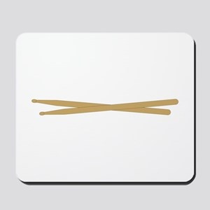 Drum Sticks Mousepad