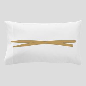 Drum Sticks Pillow Case