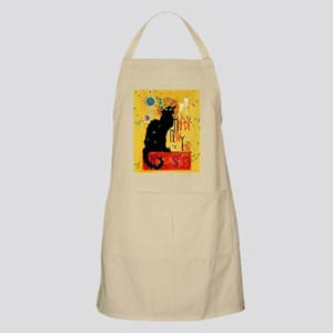 Chat Noir New Years Party Countdown Apron