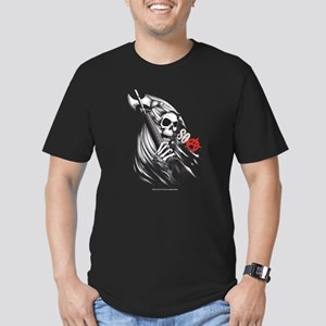 SOA Reaper Face Men's Fitted T-Shirt (dark)