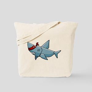 SHaRK Mascot Tote Bag