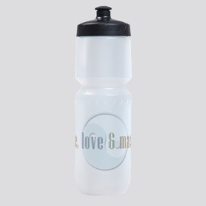 Peace, Love and Massage Sports Bottle