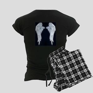 Angel Wings Blue Moon Women's Dark Pajamas