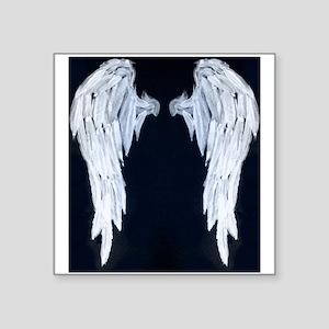 Angel wings blue moon Sticker