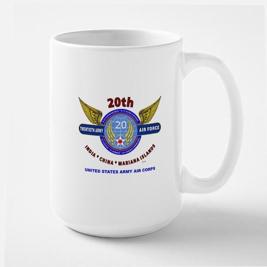 20TH ARMY AIR FORCE* ARMY AIR CORPS WW  Large Mug