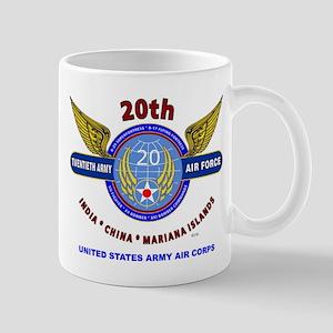 20TH ARMY AIR FORCE* ARMY AIR CORPS WW  Mug