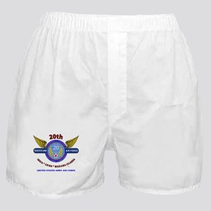 20TH ARMY AIR FORCE* ARMY AIR CORPS W Boxer Shorts