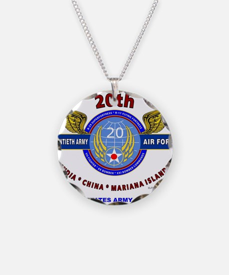 20TH ARMY AIR FORCE* ARMY AI Necklace