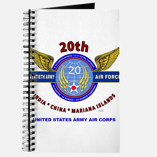 20TH ARMY AIR FORCE* ARMY AIR CORPS WW II Journal