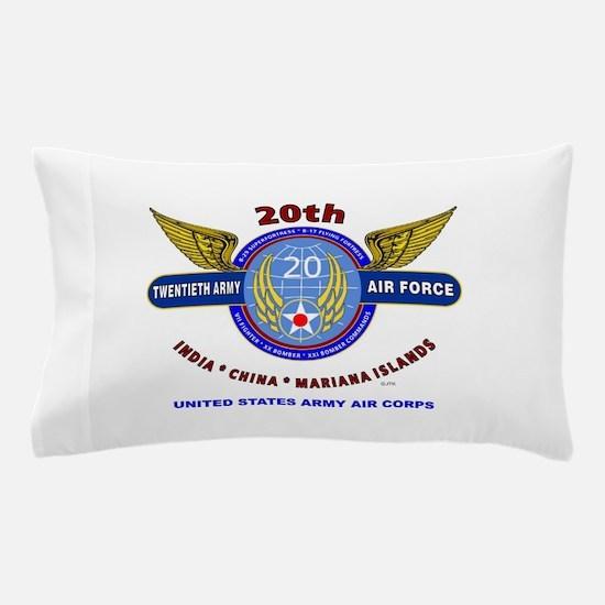 20TH ARMY AIR FORCE* ARMY AIR CORPS WW Pillow Case