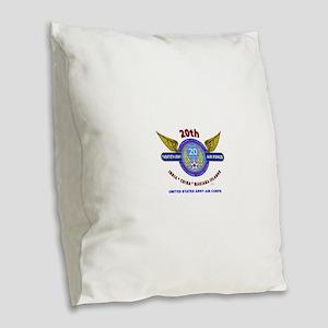 20TH ARMY AIR FORCE* ARMY AIR Burlap Throw Pillow