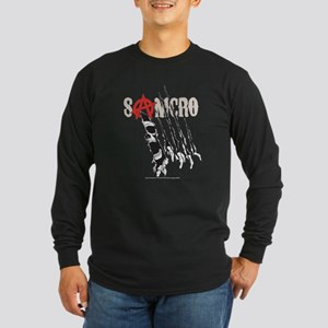 Sons of Anarchy Torn Long Sleeve Dark T-Shirt