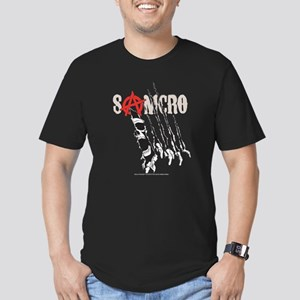 Sons of Anarchy Torn Men's Fitted T-Shirt (dark)