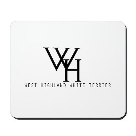 West Highland Wear Mousepad