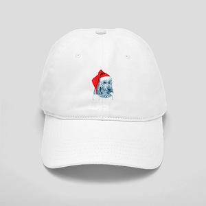 Santa Labradoodle Baseball Cap