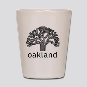 Oakland Tree Shot Glass