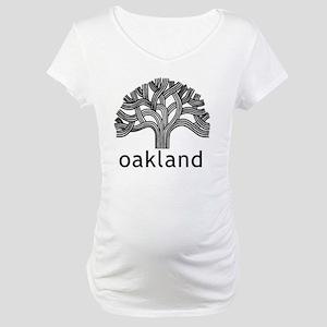 Oakland Tree Maternity T-Shirt
