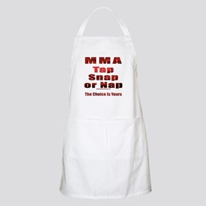 Tap Snap or Nap BBQ Apron