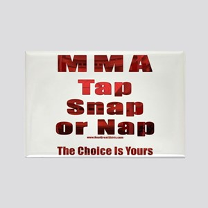 Tap Snap or Nap Rectangle Magnet