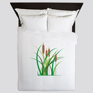 Cattails Queen Duvet