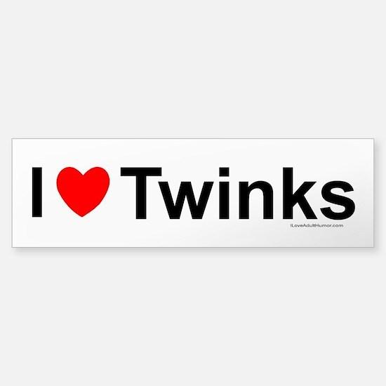 Twinks Sticker (Bumper)