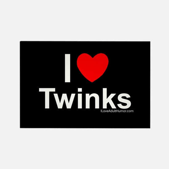 Twinks Rectangle Magnet